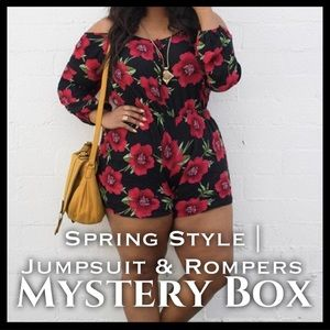 Pants - SPRING STYLE | ROMPERS & JUMPSUIT MYSTERY BOX